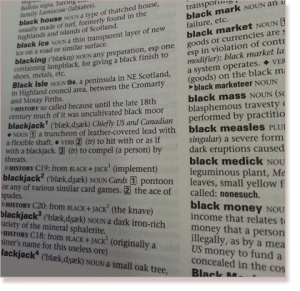 Blackjack Dictionary