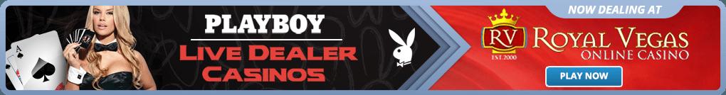 Try Playboy live dealer blackjack