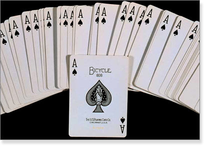 Value of an ace in blackjack
