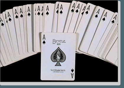 Aces in blackjack