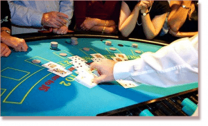 Crown Casino $5 Blackjack Tables