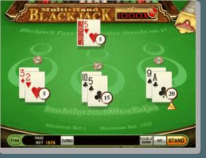 Blackjack Multi Hand Online Card Games for Real Money