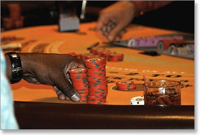 Don't Play Blackjack Drunk