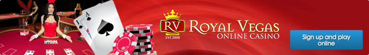Royal Vegas online casino blackjack deposits