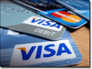 MasterCard and Visa Credit and Debit Cards for Online Blackjack