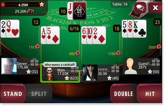 online blackjack free with friends