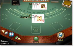 iOS blackjack