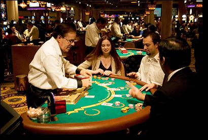 Blackjack at Caesar's Palace