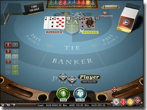 Play baccarat pro by Net Entertainment online