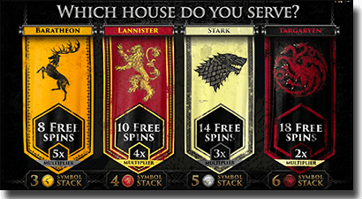 Game of Thrones 243 Ways slots