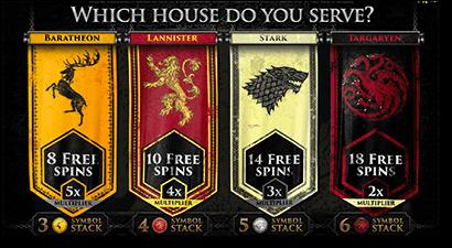 Game of Thrones 243 Ways slots