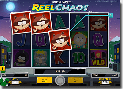 Play South Park Reel Chaos slots