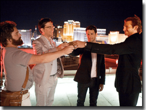 The Hangover film - funniest blackjack scene in history