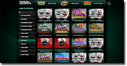Casino-Mate - New blackjack site interface