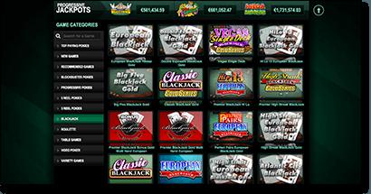 Casino-Mate - New blackjack site interface