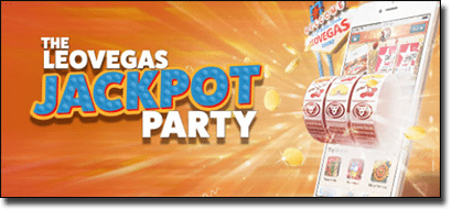 Leo Vegas Jackpot prize party for blackjack players