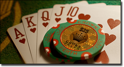 Crown Perth blackjack games