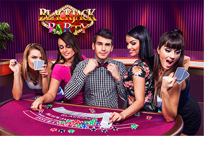 Evolution live dealer 21 - Blackjack Party