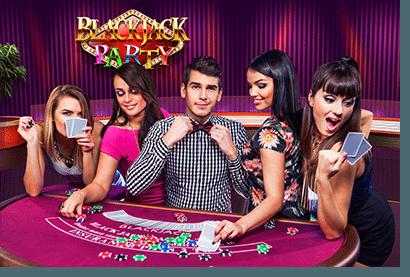 Evolution live dealer 21 - Blackjack Party