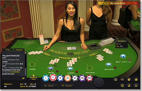 Evolution live dealer blackjack real money games