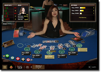 Microgaming blackjack live dealer classic