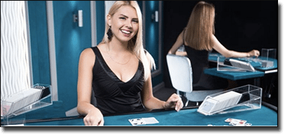 New live dealer blackjack at Royal Vegas Casino February 2016