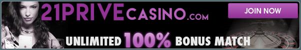 21Prive - blackjack casino site for Australians