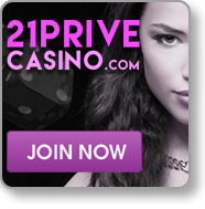 21 Prive blackjack casino