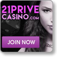 Join 21 Prive blackjack mobile casino