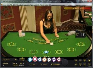 G'Day Casino - live dealer blackjack for free