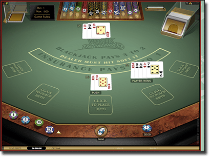 how to play blackjack in vegas
