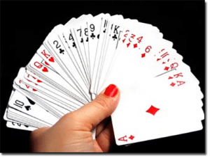 How many decks of cards in blackjack