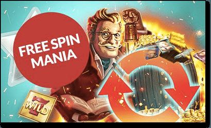 Free spin mania at Guts.com