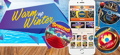 Leo Vegas Casino winter promotion 2016