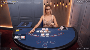 Evolution Gaming's live dealer Texas Hold'em