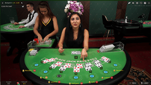 Live dealer online blackjack for real money
