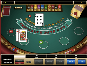 Microgaming Classic blackjack online
