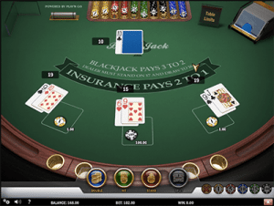 Play'n Go's Multi-Hand Blackjack at Guts Casino