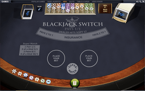 Playtech Blackjack Switch online for real money