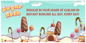 Sugar Rush Royal Vegas Casino promotion