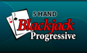 5 Hand Progressive Blackjack