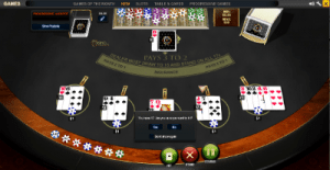 5 Hand Progressive Blackjack gameplay