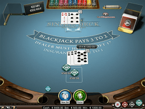 Blackjack Pro High Limit 21 gameplay