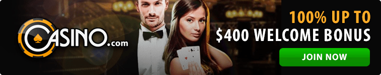 Casino.com's Blackjack Peek on mobile and desktop