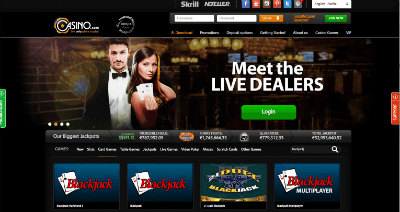 Casino.com blackjack real money