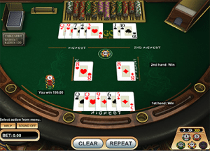 Pai Gow Poker by BetSoft software