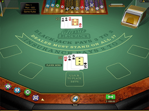 Microgaming online blackjack high payouts
