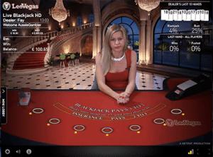 NetEnt Live Blackjack VIP